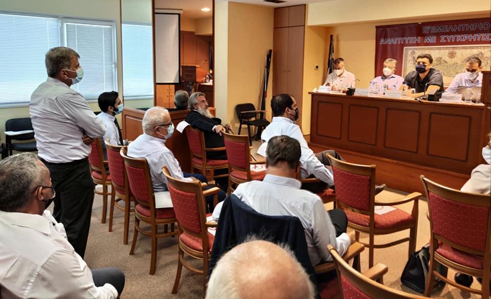 Σύσκεψη υπό τον Υπ. Υγείας για το επιχειρησιακό σχέδιο εντατικοποίησης των εμβολιασμών στην Κρήτη
