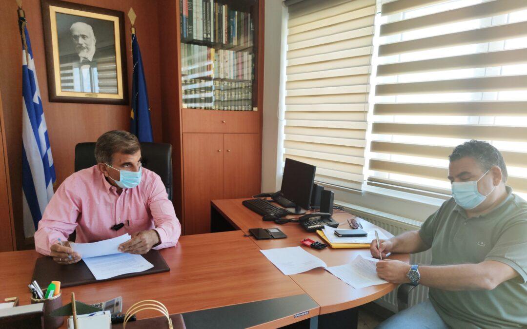 Υπογραφή σύμβασης 230.000 € για αποκατάσταση δημοτικής οδοποιίας σε Πατσό, Παντάνασσα, Φουρφουρά και Νίθαυρη